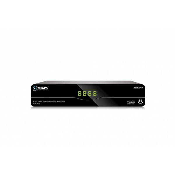 Synaps THd -2857 földi digitális Mindigtv vevő és médiaplayer