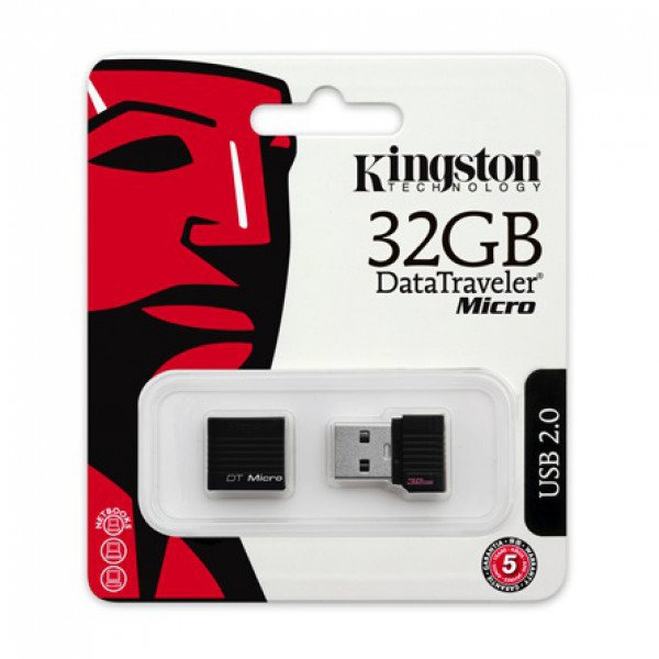 KINGSTON 32GB USB2.0 Data Traveler Micro pendrive