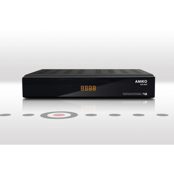 Amiko HD-7900 PVR HDTV földi digitálisvevő, Conax, USB, PVR read