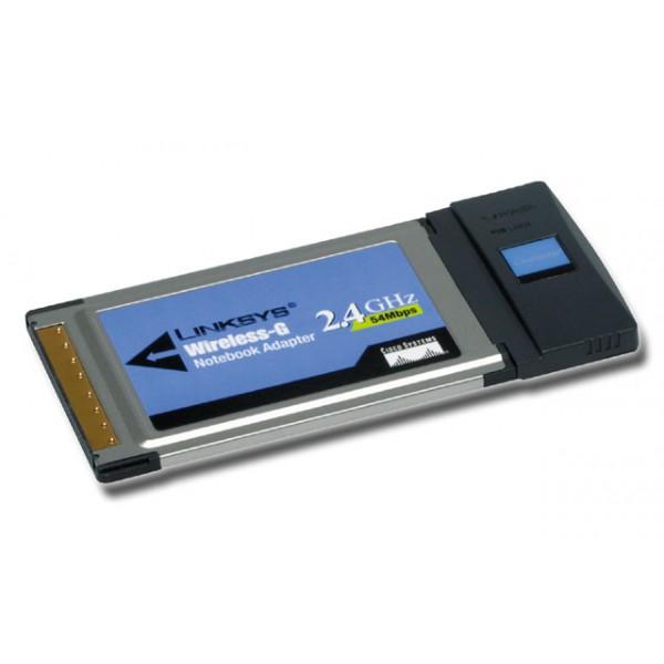 Linksys PCMCI Notebook Wireless-G adapter
