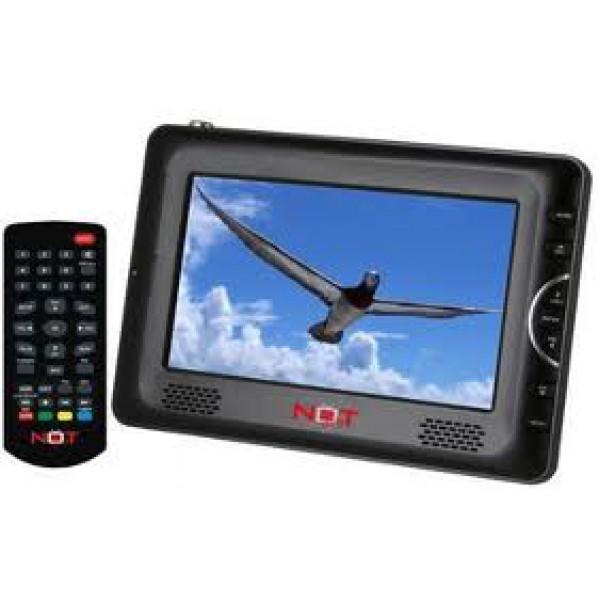 Notonly Lifeview 7'-os mini LCD tv, beépített Minidigtv vevő, mé