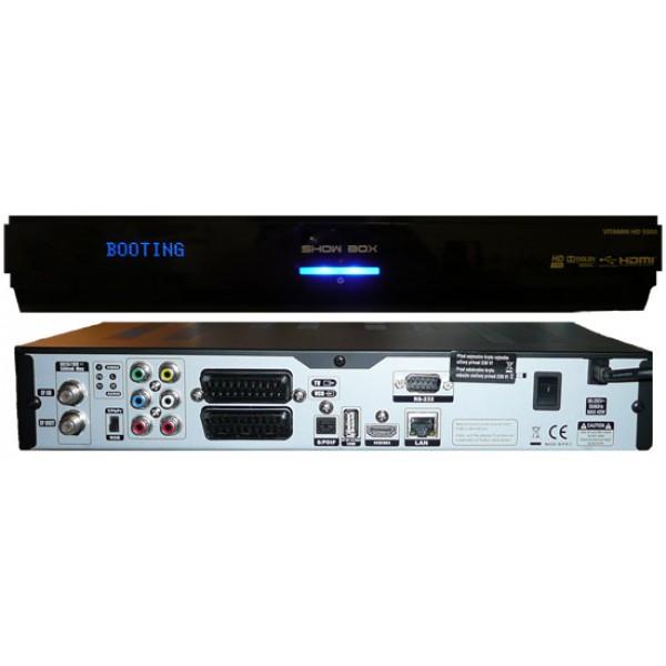 Showbox 5000 HD Vitamin hdtv műholdvevő
