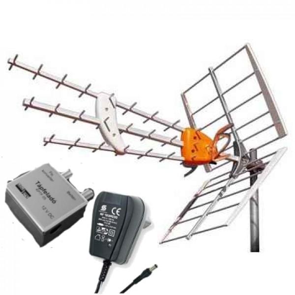 Televes Dat Hd digitális  földi tv antenna erősítővel