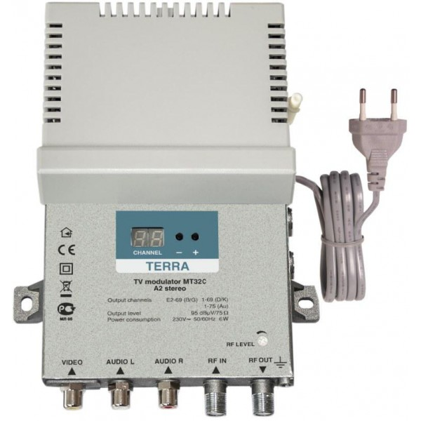 Terra MT32C csonka oldalsávos modulátor