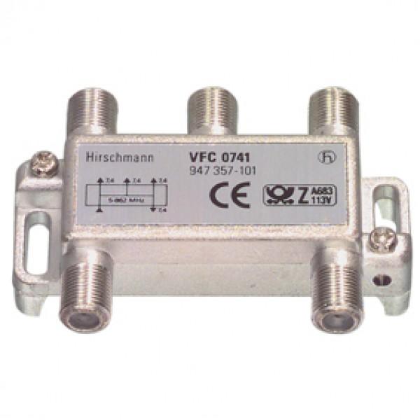 Hirschmann 4-es sat elosztó VFC 0741 S